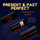 Present & Past Perfect (Pluscuamperfecto) Practice Activity
