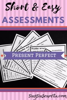 Present Perfect Assessment