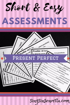 Present Perfect Assessment