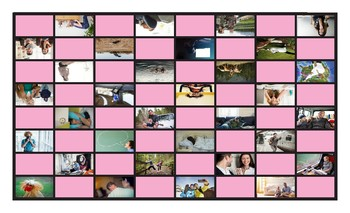 Present Perfect Continuous Tense Spanish Legal Size Photo Checkers Game