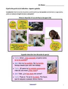 Present Perfect Guided Notes