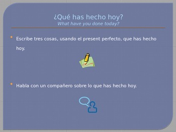 Present Perfect Intro and Practice PowerPoint