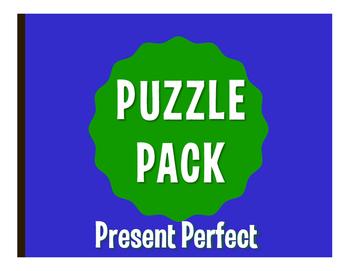 Spanish Present Perfect Puzzle Pack