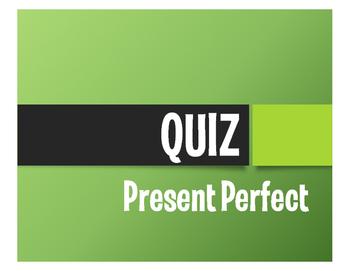 Spanish Present Perfect Quiz
