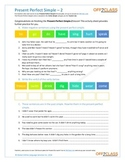 Present Perfect Simple - Activity Sheet - 2