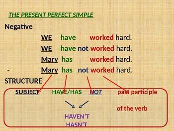Present Perfect Simple vs. Continuous - REVISION