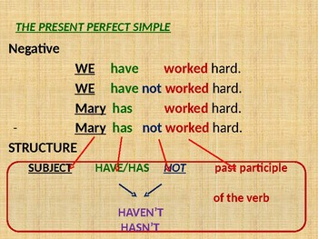 Present Perfect Simple vs. Continuous - REVISION