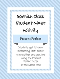Present Perfect Student Mixer Activity