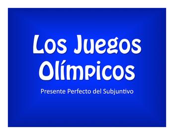 Spanish Present Perfect Subjunctive Olympics
