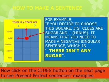 Battle  Game for Present Perfect Tense (moderate mode)