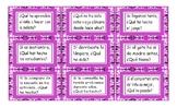Present Perfect Tense Spanish Card Game