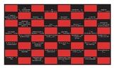 Present Perfect Tense Spanish Checker Board Game