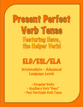 Present Perfect Verb Tense Introductory Lesson