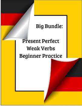 German Language: Present, Perfect, Past Tense (Weak Verbs Beginner Practice)