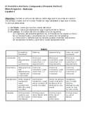 Present Perfect in Spanish News Article Project