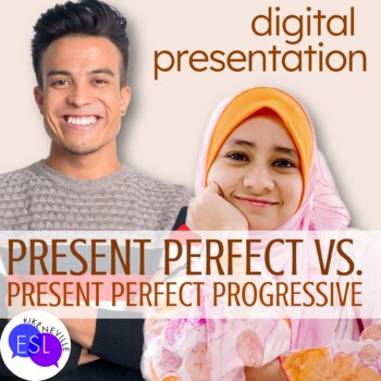 Present Perfect vs. Present Perfect Continuous Digital Presentation