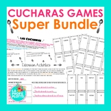 Present, Preterite, Imperfect, & Future ¡Cucharas! Games S