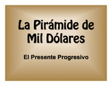 Spanish Present Progressive $1000 Pyramid Game