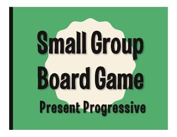 Spanish Present Progressive Board Game