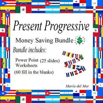 Present Progressive Bundle