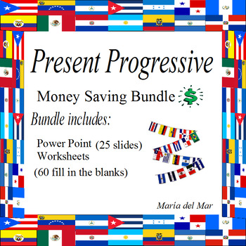 Present Progressive Bundle