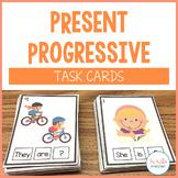 Present Progressive Grammar Cards