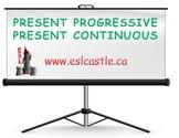 Present Progressive Grammar Course Notes