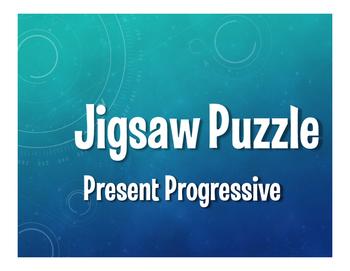 Spanish Present Progressive Jigsaw Puzzle