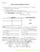 Present Progressive - Notes + Answer Sheet