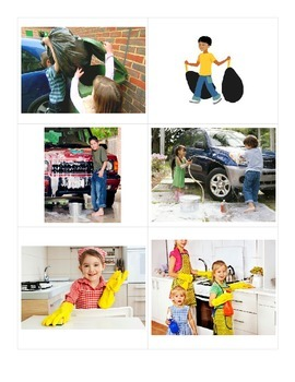 Present Progressive Practice Pictures