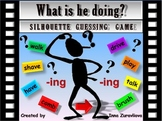 Present Progressive Silhouettes Guessing Game