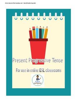 Present Progressive Tense Online ESL VIPKID