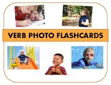 Present Progressive Verb Flashcards - Real Photographs