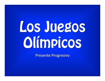 Spanish Present Progressive Olympics