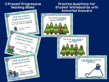 Present Progressive Verb Tense Presentation