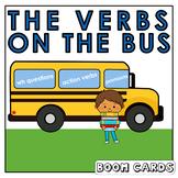 Present Progressive Verbs |  Boom Cards | Language | Speech Therapy