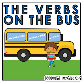 Present Progressive Verbs |  Boom Cards | Language | Speech Therapy