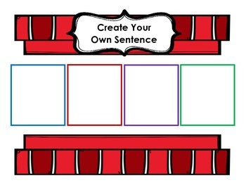 Present Progressive Verb Flashcards and Sentence Strips