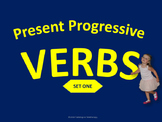 Present Progressive Verbs (Set One)