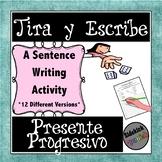 Present Progressive in Spanish: Dice Game