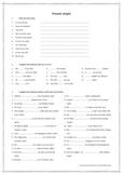 Present Simple 1a worksheet