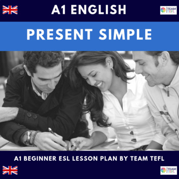 Present Simple A1 Beginner Lesson Plan For ESL