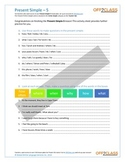 Present Simple - Activity Sheet - 5