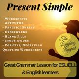 Present Simple - ELL Newcomer/ESL Grammar Lesson