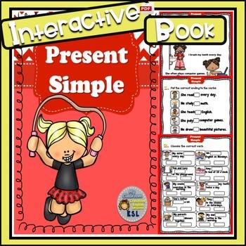 Present Simple - Interactive Book