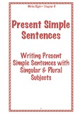 EFL Write Right Chapter 6 - Present Simple Sentences