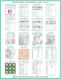 Present Simple Tense Level 1-A Unit 9 Bundle