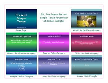 Present Simple Tense PowerPoint Slideshow