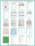 Present Simple Tense-Verb Be Level 1-A Unit 3 Bundle