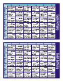Present Simple Tense with Verb Be and Yes-No Questions Battleship Board Game